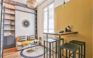couleur pantone 2021 living jaune gris